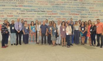 Equipe da Udesc participou do último encontro do Forproex, em Porto Seguro (BA). Foto: Divulgação