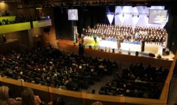 Cerimônia da turma de Florianópolis será no Teatro Pedro Ivo - Foto: Gustavo Cabral Vaz/Ascom Udesc