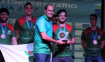 Equipe ganhou medalha de bronze na LDU - Foto: Div.