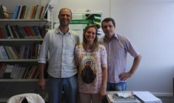Nova coordenadora substitui Perucci (à esq.); Dutra Filho é secretário administrativo -Foto: Celia Penteado