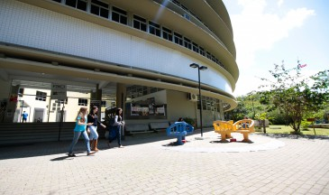 Na Udesc Faed, em Florianópolis, há vagas para áreas como Pedagogia e Geografia. Foto: Jonas Pôrto