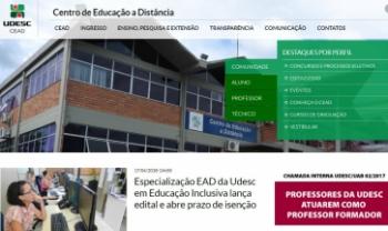 Novo site do tem acesso facilitado às informações dos setores e das atividades - Imagem: Reprodução