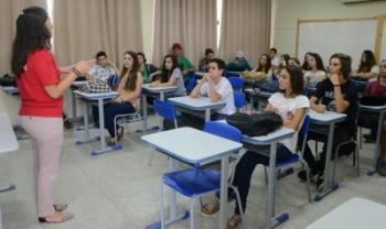 Oemesc quer compreender ensino da área, sobretudo na rede estadual - Foto: Jaqueline Noceti/Ascom SED