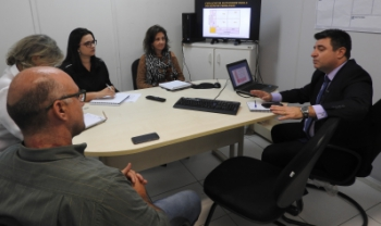 Vice-reitor, Leandro Zvites, lidera Escritório de Processos e Melhoria Contínua - Foto: Lavínia Kaucz