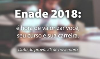 Primeira atividade será o Seminário Institucional Enade 2018, sexta-feira, no Plenarinho.
