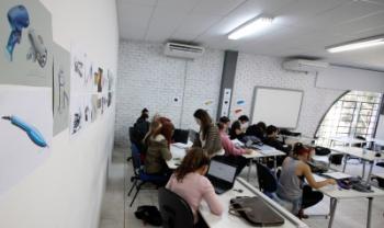 Acadêmicos do curso de Design Industrial, da Udesc Ceart, participarão do Enade 2018 - Foto: Jonas Pôrto