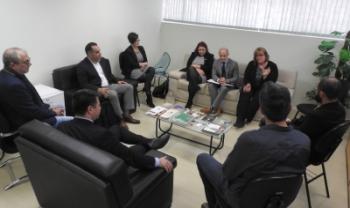 Criação do órgão foi formalizada em reunião realizada nesta quinta -Foto: Gustavo Cabral Vaz/Secom Udesc