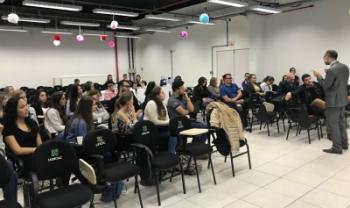 Um dos eventos realizados nesta semana ocorreu nas instalações da Udesc Oeste em Chapecó - Fotos: Div.