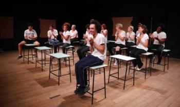Espetáculo terá três apresentações na Udesc Ceart no mês de agosto. Foto: Jerusa Mary