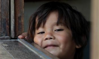 Crianças do Morro dos Cavalos, SC - foto por Ana Paula Soukef