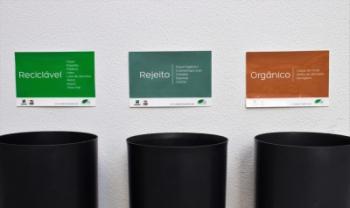 Objetivo é desviar 90% dos resíduos de incineração, aterro e ambiente até 2022 - Foto: Marcelo G. Cardoso