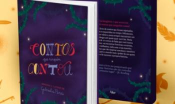 ?Contos que Ninguém Contou?, de Gabriela Colebrusco Peres, é um projeto de livro ilustrado de contos de fada. Voltado ao público infantojuvenil, traz histórias multiculturais que exaltam o protagonismo, o poder e a diversidade da mulher. Imagem: Divulgação