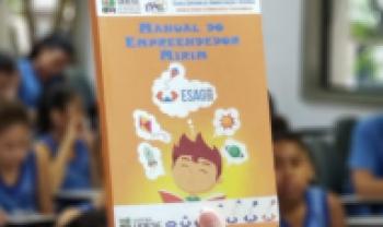Oficina do Esag Kids em parceria com a UFF em Niterói (RJ)