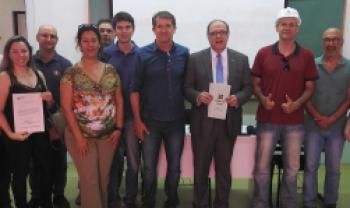 Ordem de serviço foi assinada na manhã desta quarta, em Florianópolis - Fotos: Gustavo Vaz/Secom Udesc