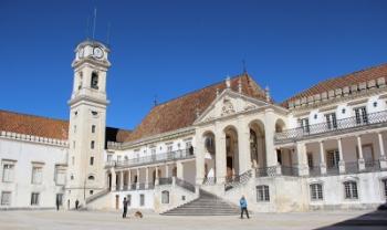 Universidade de Coimbra, em Portugal, foi uma das instituições visitadas em 2018