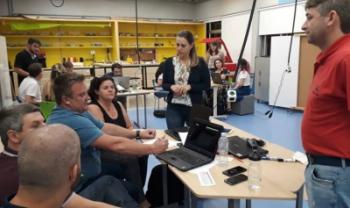 Espaço em Blumenau que serviu de inspiração para  Espines recebeu docentes da Udesc para evento de  formação continuada em fevereiro
