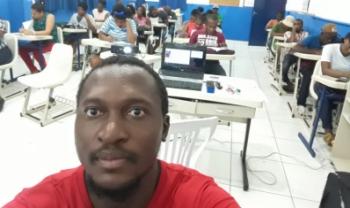Natural do Congo, Michee Kalala sugeriu criação de curso de extensãopara estrangeiros - Foto: Divulgação