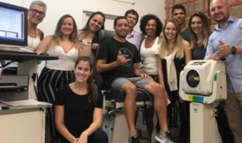 Atleta voltará à Udesc Cefid em maio para nova avaliação - Foto: Divulgação