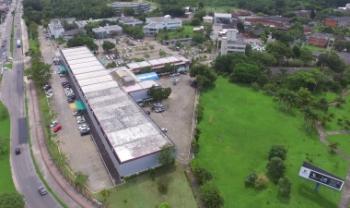 A Udesc é uma gigante com 12 centros de ensino e 35 polos de educação a distância em Santa Catarina. Na imagem, o campus I, na Capital.
