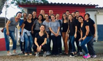 Pós-graduandos em Ciência do Movimento Humano da Udesc Cefid participaram da atividade