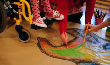 Projeto promove inclusão e acessibilidade por meio da arte. Foto: Divulgação
