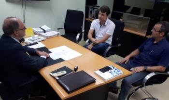 Coordenador do polo de Palmitos, Oberdan comunicou pessoalmente o reitor, Marcus Tomasi, e o diretor-geral da Udesc Cead, David Silva, sobre a moção de apoio - Foto: Divulgação