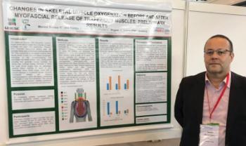 Professor apresentou em evento na Suíça pesquisa sobre técnica para diminuir dores no pescoço e no ombro