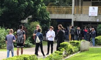 Campus da Universidade Federal de SC (Ufsc) é um dos locais de prova neste domingo