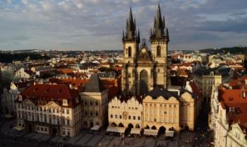 Praga, na República Checa, foi uma das cidades visitadas com apoio do Proeven neste semestre