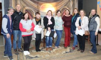 Evento foi realizado por integrantes do programa Aprendendo a falar alemão