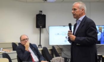 Alessandro Grandi, presidente da incubadora Almacube e professor do Departamento de Administração da Unibo