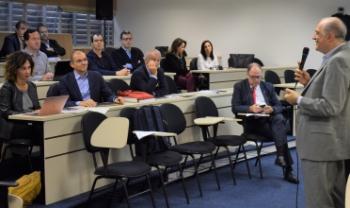 Antonio Corradi, chefe do Departamento de Engenharia e Computação e responsável pelas cooperações científicas entre Udesc e Unibo