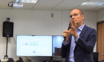 Giuseppe Conti, diretor do Departamento de Relação Industrial e Transferência de Tecnologia da Unibo
