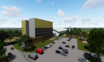 Novo Cefid será construído em terreno com cerca de 30 mil metros quadrados, no Bairro Capoeiras