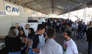 Oficinas ocorrerão na estrutura do parque, que será montada em Florianópolis