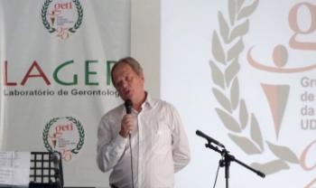 Médico geriatra Sergio Paruker fará palestra sobre envelhecimento no Cefid, em Florianópolis