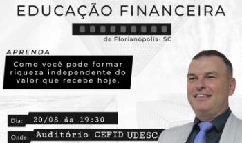 Evento será na Udesc Cefid, no Bairro Coqueiros