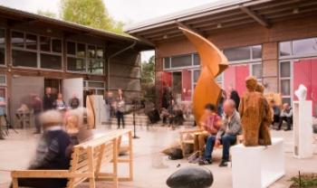 Universidade Alanus de Artes e Ciências Sociais, na Alemanha, é uma das instituições conveniada com a Udesc para a área de Artes. Foto: Alanus/Reprodução