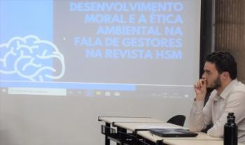 As apresentações de trabalhos acadêmicos dos estudantes  da Udesc Esag começaram nesta quinta-feira