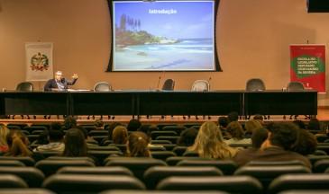 Abertura do evento voltado a docentes da educação básica (Fotos:Rodolfo Espínola/Agência AL)