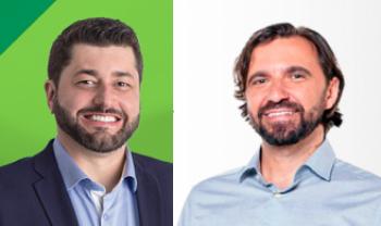 Dilmar Baretta e Émerson Campos, candidatos a reitor, são entrevistados no programa Nas Entrelinhas, da Rádio Udesc FM