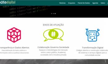 Plataforma Pátio Digital da Secretaria Municipal de Educação de São Paulo, será um dos projetos inovadores visitados