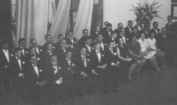 Formatura da turma de 1969, no TAC