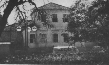 Primeira sede da Udesc Esag, no centro de Florianópolis