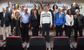 Professores e técnicos do Mestrado Profissional