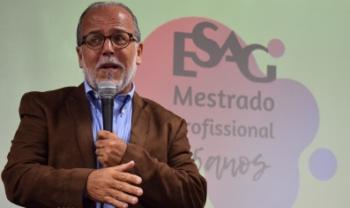 Mário Cesar Barreto Moraes ajudou na criação do mestrado, do qual foi coordenador