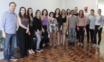 Residentes em Gestão Pública e equipe da SIE-SC