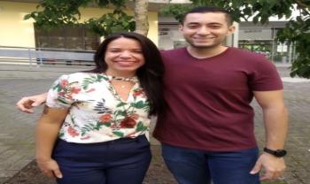 Melissa e Raphael, mestrandos do PPGInfo