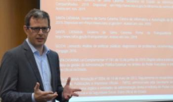 Diretor-geral Éverton Cancellier destacou qualidade da Udesc Esag