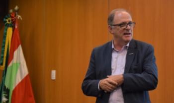 Reitor da Udesc, Marcus Tomasi: aproximação entre universidade e sociedade